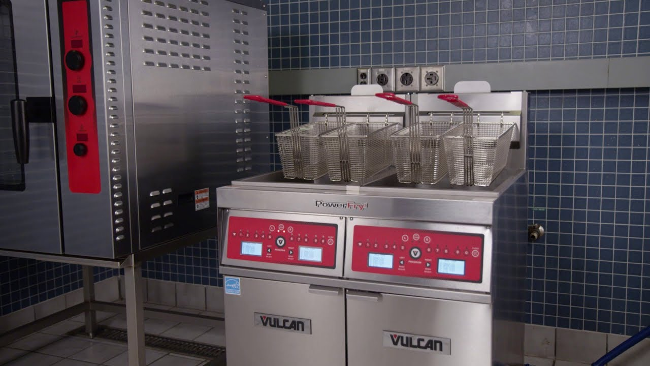 Vulcan PowerFry5 and PowerFry3 Filtration Demo