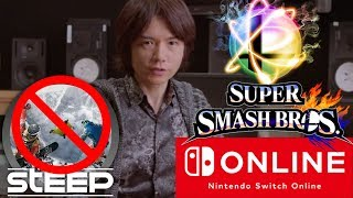 Massive News: Sakurai Talks Smash | PS4 PRO 500 Million Edition- Switch Online & Steep Switch Cancel