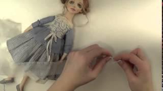 Авторская подвижная кукла. Мастер-класс(Если это видео показалось Вам полезным и интересным, поделитесь с друзьями! Видеоканал Школа авторской..., 2016-02-27T18:53:33.000Z)