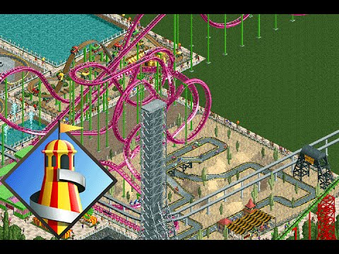 Repeat [OpenRCT2] Park Project: Go Nuts Park - Episode 1 by