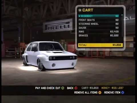 customizing vw golf on midnight club 3 la 1983 youtube. Black Bedroom Furniture Sets. Home Design Ideas