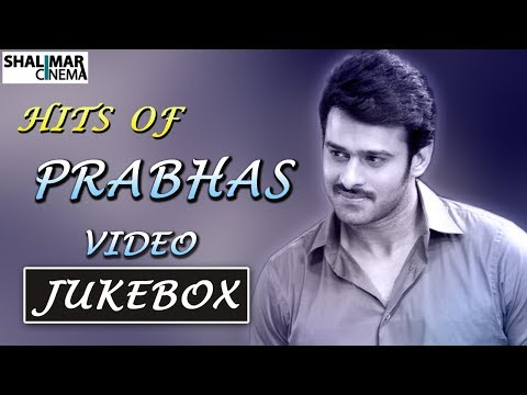Prabhas All Time Hit Video Songs Jukebox || Best Collection || Shalimarcinema