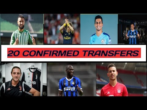 20 CONFIRMED TRANSFERS 2019 ✔️