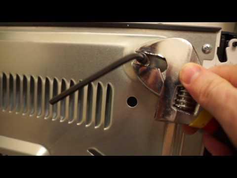 Steel threaded insert or rivet nut into sheet metal using no special tools