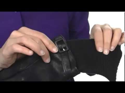 Echo Design Leather/Knit Cuff Glove SKU: #8039719