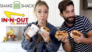 In-N-Out Vs Shake Shack ft Alisha Marie!