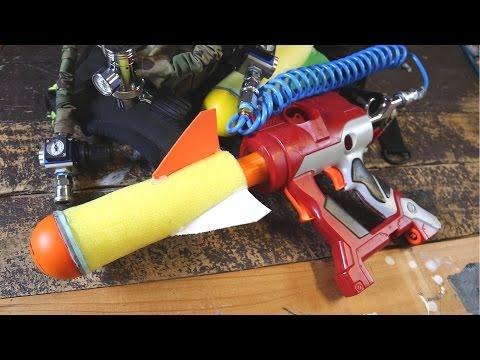 How to Make DIY Nerf Foam Rockets | Make Test Battle Mod Guide