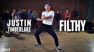 Justin Timberlake - Filthy - Choreography by Jake Kodish - #TMillyTV ft. Everyone thumbnail
