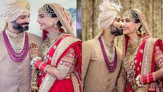 The Official Wedding Photos of Sonam Kapoor & Anand Ahuja❤Unseen