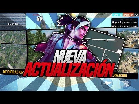 FILTRADO LA NUEVA ACTUALIZACIÓN!! NUEVO PERSONAJE!! NUEVO MAPA EN FREE FIRE