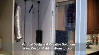 Custom Bathroom Cabinets And Closet Cabinet Designs