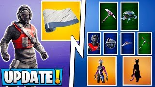 *NEW* Fortnite Update! | 14 Free Items, All Skins, and Military Location Confirmed!