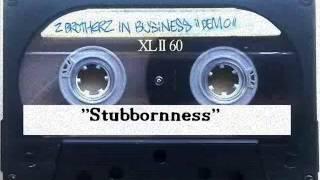 DJ Fix (ft. Rockattack Ten) 2 Brotherz In Business - stubbornness (demo) 1989
