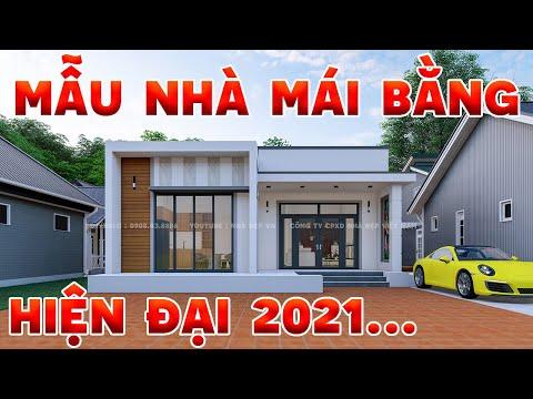 Mẫu nhà mái bằng hiện đại.Top những mẫu nhà đẹp đáng xây dựng 2021