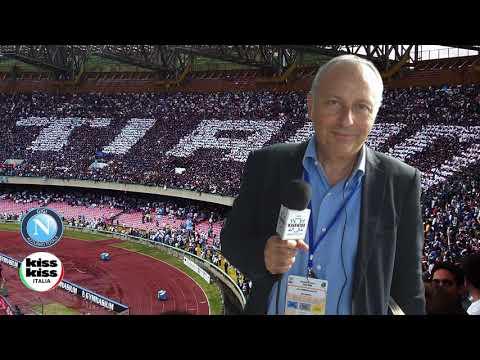 Napoli-Benevento 6-0 Radiocronaca di Carmine Martino su Radio KissKiss Italia