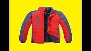 Обзор мужской осенней куртки из Китая.