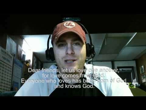 3DR Daily Bible Verse - 1 John 4-7