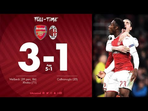 Download Arsenal vs AC Milan 3-1 All Goals & Highlights Extended-UEL 15/03/2018 HD SportsHunkTV