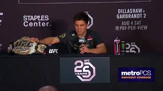 UFC 227: Post-fight Press Conference Highlights