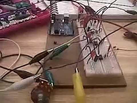 555 timer circuit + bent barbie 2