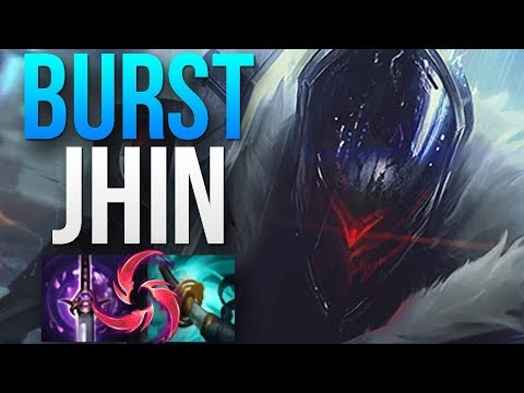 JHIN WITH STORMRAZOR AND HAIL OF BLADES INSANE BURST | CHALLENGER JHIN ADC GAMEPLAY | Patch 8.13 S8