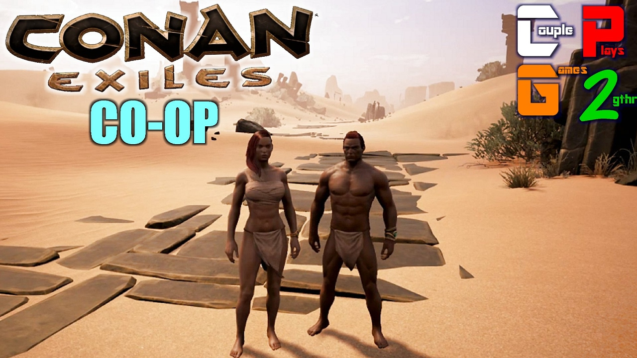 conan exiles how to start a coop game