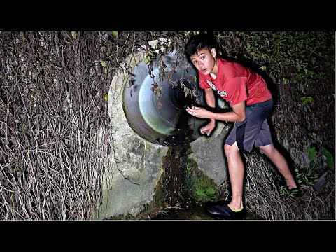 EXPLORING SCARY TUNNEL AT NIGHT