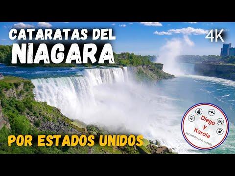 CATARATAS DEL NIAGARA SON GRATIS POR ESTADOS UNIDOS | 4K | Diego Y Karola