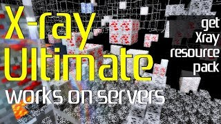 How to add Xray to Minecraft - download and install Xray Ultimate [1.12.2 compatible resource pack]