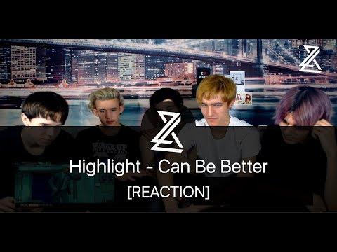 Highlight(하이라이트) 'Can be better' Official MV (2L8 REACTION)