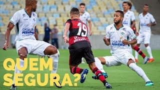 Flamengo com Gabigol e 9 reservas mostra força. Palmeiras no 0 a 0 com o Santos não mostra progresso