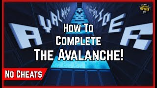 How To NO CHEAT The Avalanche Featured Map With Bloopers [Fortnite Creative Guides]