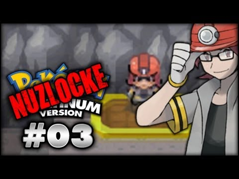 pok233mon platinum nuzlocke part 3 gym leader roark