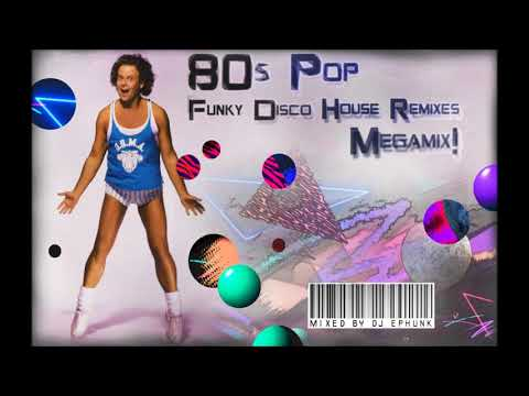 1980's Pop / 80's Top 40 Funky Disco House Remix Megamix! Rare White Label, Bootleg, Unreleased