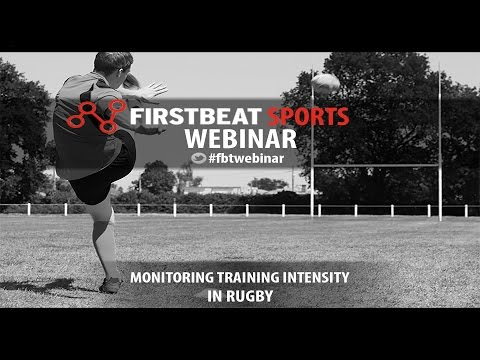 Monitoring Training Intensity in Rugby | Firstbeat Sports Webinar