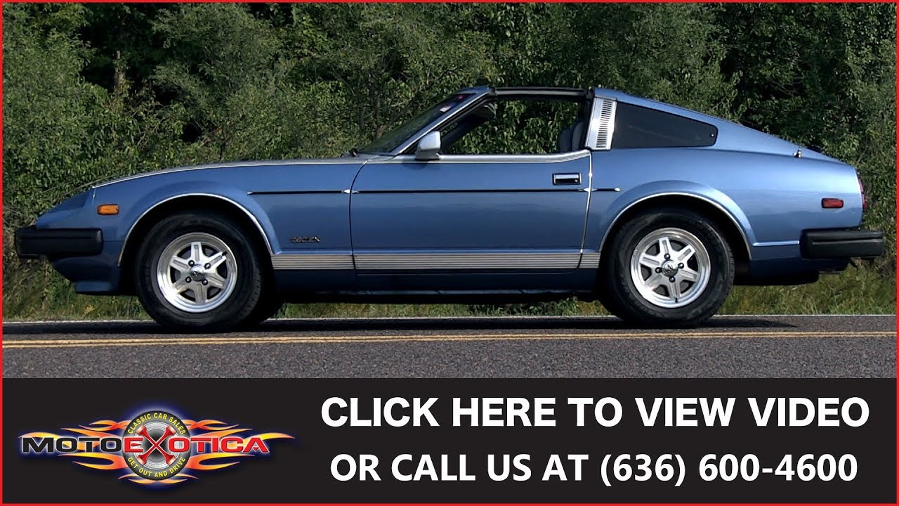 1981 Datsun 280zx For Sale Youtube