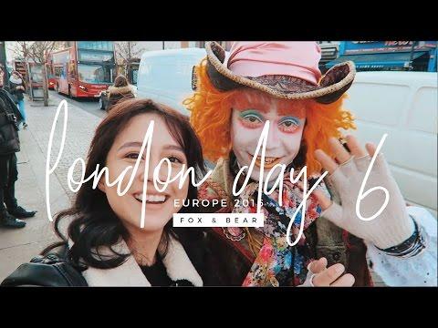 EUROTRIP 2016: I met the Mad Hatter in Camden Town | Camie Juan | Fox & Bear