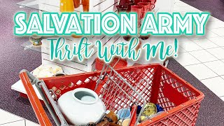 🌟IT WAS A GOOD DAY! 🌟SALVATION ARMY THRIFT WITH ME! 🛍THRIFTING FOR A LIVING 🛍