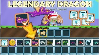 GrowTopia | Buying All Dragons on GrowTopia!! (LEGENDARY DRAGON!!?!!) OMG!!