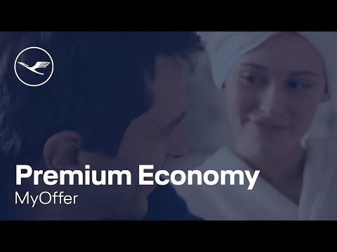 MyOffer: Chance to upgrade to Premium Economy | Lufthansa