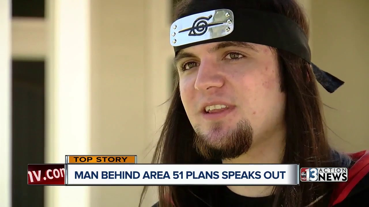 Creator of 'Storm Area 51' event says a joke