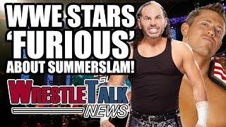 WWE Stars FURIOUS About Summerslam Match Big Cass INJURED  WrestleTalk News Aug 2017