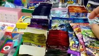 문방구표 포켓몬스터 XY 카드 시리즈 14개 (EX카드 대박) [대포마스터]