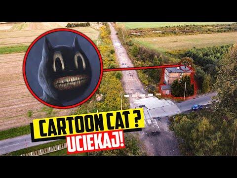 MÓJ DRON UCHWYCIŁ CARTOON CAT W NAWIEDZONYM BUDYNKU! (ZNALAZŁEM GO!)