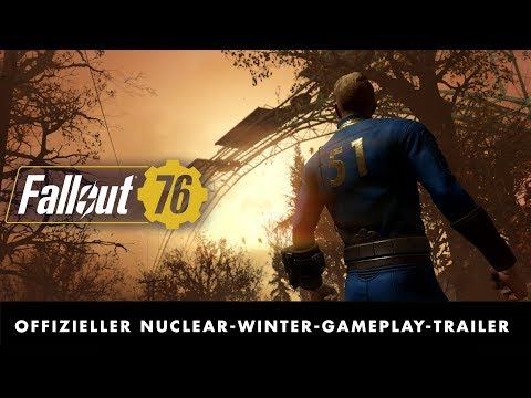 Fallout 76 –Offizieller Nuclear-Winter-Gameplay-Trailer zur E3 2019