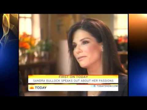 Sandra Bullock on NBC Today Show