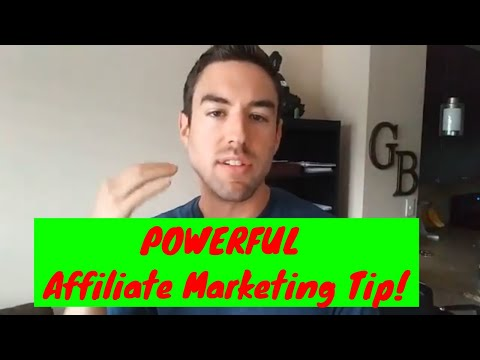 LEARN How To Build a BIG List of Hungry Buyers! – Affiliate Marketing Tips