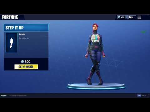 *NEW* STEP IT UP DANCE IN FORTNITE: BATTLE ROYALE!