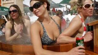 Julia Mancuso Olympics: Hot Tub Fun With Lindsey Vonn - Find Out Why She Prefers Canadian Beer!