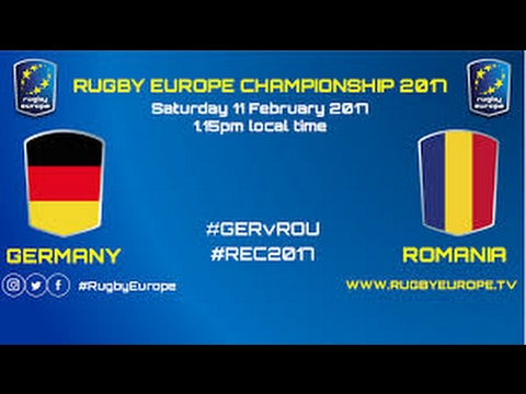 REPLAY GERMANY ROMANIA RUGBY EUROPE CHAMPIONSHIP 2017